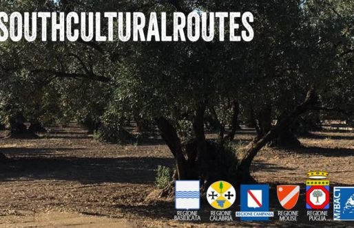 Lorenzo Scaraggi e le South Cultural Routes s'incrociano con Daunia Land Art al km 46.550 della S.S. 272.