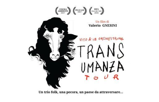 Un proiezione in mezzo al Nulla! Transumanza Tour sul nostro Tratturo.