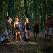 daunia land art bosco quarto gargano escursione natura trekking monte sant'angelo