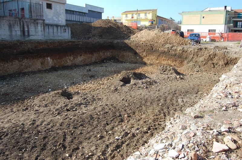 scavo emergenza urbano